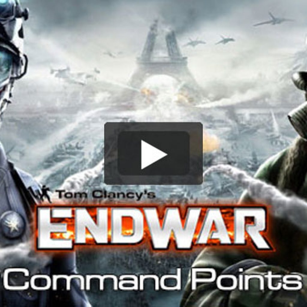 Tom Clancy's EndWar - Command Points
