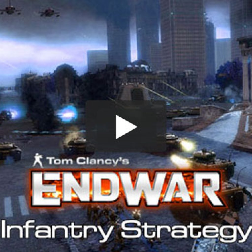 Tom Clancy's Endwar Vignette - infantry Strategy