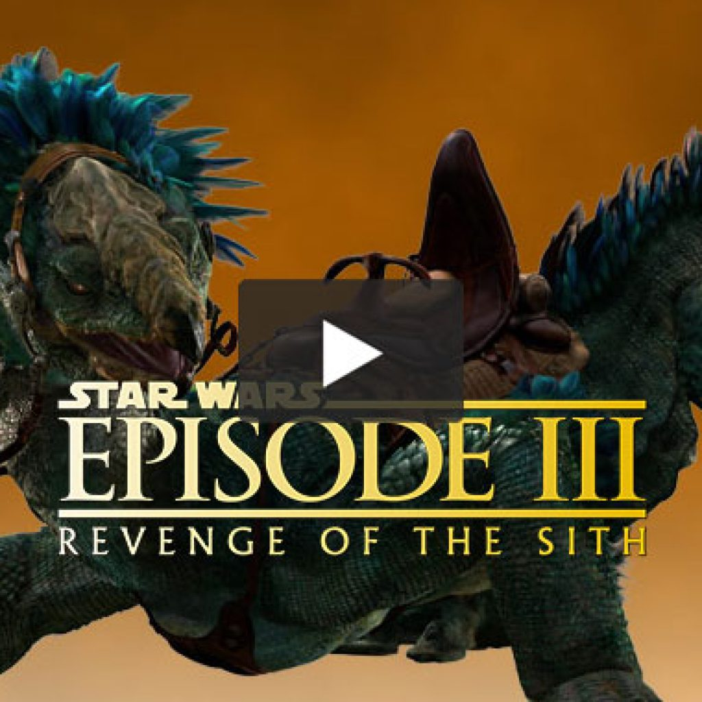 Star Wars Ep III: BTS 'Creatures'